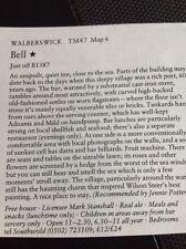 m1-3 ephemera 1984 pub article The Pub Bell Walberswick Stanshall