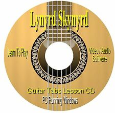 Lynyrd Skynyrd  **GUITAR TABS ** Software CD - (20 Songs)