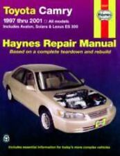 Haynes 92007 Repair Manual Toyota Camry 1997 thru 2001 Includes Avalon 97-01