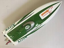 E36 Sword Electric Power Remote Control RC Boat Speed Racing Model Green PNP