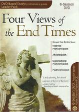 FOUR VIEWS OF THE END TIMES SIX-SESSION DVD-BASED STUDY - Leader Pack  **NEW**