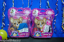 Teacup Doggies Fashion Set of 5 Outfits Blue Jean Skirt Rose Shirt Shorts More