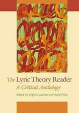 The Lyric Theory Reader: A Critical Anthology,