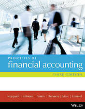 NEW - FAST to AUS / NZ - Principles of Financial Accounting by Weygandt (3 Ed)