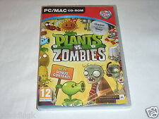 PC Mac Game Plants vs Zombies Game of the Year Edition Brand New Factory Sealed