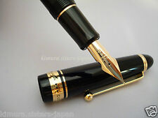 Pilot Namiki Custom 743 Fountain Pen Black FA nib Falcon FKK-3000R-B-FA New