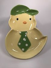 New Hallmark Easter Spring Baby Chick Small Plate Candy Dish New Free Ship