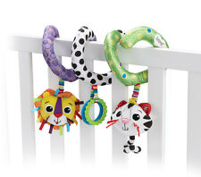 Lamaze Activity Spiral Babies Textured Soft Toys Rattle Hanging Buggy Cot NEW!!
