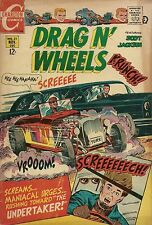 Drag N' Wheels #31 November 1968 - Charlton COMIC