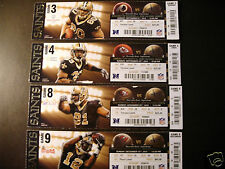 New Orleans Saints 2012 NFL ticket stubs - One ticket - Mercedes-Benz Superdome