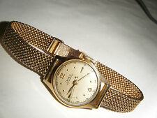 1940s RUNNING SWISS ESTATE 14K YELLOW GOLD DOXA LADY'S WATCH ANTI-MAGNETIC 23g