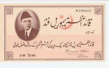 ONE RUPEE RECEIPT OF THE MOHAMMED ALI JINNAH MEMORIAL FUND