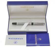 Waterman Waterminum night & day 925 silver overlay fountain pen new w/box
