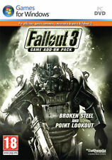 Fallout 3 Game Add On 2 Broken Steel PC IT IMPORT BETHESDA