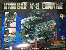 +++ Revell US Monogram 1/4 Visible V-8 Engine 85-8883