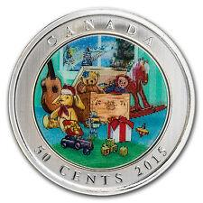2015 Canada $0.50 Lenticular Holiday Toy Box - SKU #93658