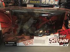 The Art Of Spawn Series 27 SPAWN VS AL SIMMONS Deluxe Boxed Set