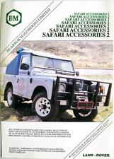 LAND Rover Bearmach Safari accessori 2-Specifiche tecniche di vendita