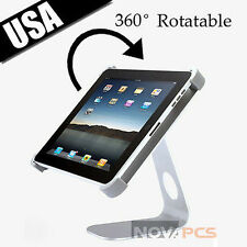 Aluminum 360° Rotatable Desktop Mount Holder Stand for Apple ipad 2 New