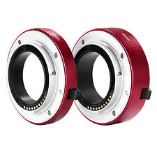 Neewer Red Macro Extension Tube Set 10mm&16mm f SONY E-mount Mirrorless Camera