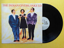 The Indian Givers - Fake I.D. / It's A Wonderful Life / Suffocate Yourself, VG+