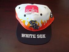 CHICAGO WHITE SOX ANNCO  SPLASH BIG LOGO SCRIPT VINTAGE 90'S HAT CAP  SNAPBACK