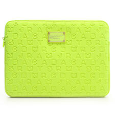 "NEW Marc by Marc Jacobs 11-12"" Laptop Sleeve Case Dreamy Logo LIME"