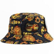 Egyptian Bucket Hat Cap 5 panel snapback pharaoh NEW