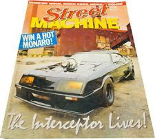 Mad Max Magazine - Street Machine Oct 1985 Mad Max Interceptor Ford Falcon GT