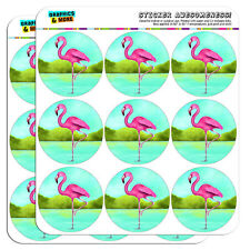 "Flamingo 2"" Scrapbooking Crafting Stickers"