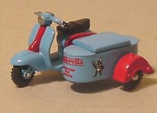 LAMBRETTA & LAMBRETTA BOX SIDECAR 1/43 O GAUGE 7mm METAL KIT