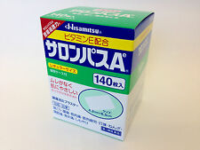 SALONPAS 140 ct Back Pain Relief Patches  JAPAN Free AIR Shipping with TRACKING