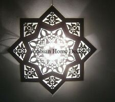"Handcrafted Moroccan 20"" Wide Star Flush Mount Ceiling Light Fixture Lamp"