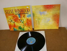 STEVE WINWOOD : TALKING BACK TO THE NIGHT - GERMANY LP 1982 - ISLAND 204 771