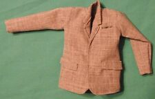 Gray Suit Coat with Real Breast Pocket & Pocket Flaps for Ken Barbie Doll KNOW04
