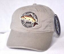 *SOUTH ISLAND NEW ZEALAND* Trout Fishing Ball cap hat OURAY embroidered