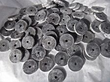 NEW Black Rubber Washers Lot of 50 1/4 Thick 1/4 Hole (1.5) 1 1/2 Inches Long