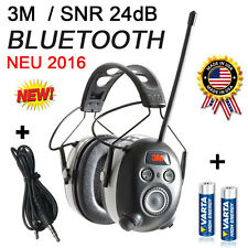 3m peltor 24db Bluetooth radio digital protector auditivo, auriculares nuevo 2016!
