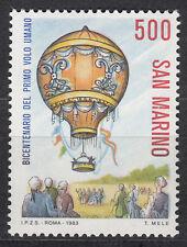 San Marino 1284** 200 Jahre Luftfahrt - Montgolfiere