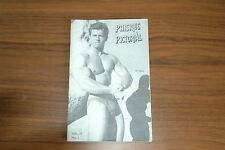 PHYSIQUE PICTORIAL VOL12 #1 60s VINTAGE MAGAZINE BOYS ART BEEFCAKE GAY MALE NUDE