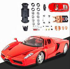 Maisto 1:24 Ferrari ENZO Diecast Assembly Line KIT Model Car Vehicle