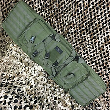 "NEW Gen X Global Tactical 42"" Paintball Airsoft AR15 Dual Rifle Gun Bag - Olive"