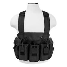 NcSTAR Black Tactical 6 Magazine Pouch 7.62x39 Hunting Chest Rig Vest Harness