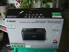 Canon PIXMA MX492 Wireless All-In-One Printer Open box