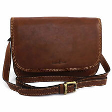 Gianni Conti Flap Front Shoulder Bag -Style: 913185 Made in Italy BNWT