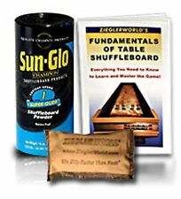 TABLE SHUFFLEBOARD SUPER GLIDE SAND #1 SIX PACK+ 2 BONUSES !