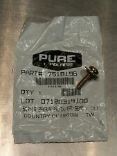 NOS POLARIS 7518196 FRAME SCREW RANGER SPORTSMAN OUTLAW PREDATOR HAWKEYE