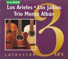 Los Arieles,Los Jaibos,Trio Monte Alban Box set 3CD New Nuevo sealed