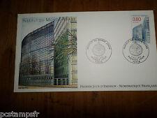 FRANCE 1990 FDC 1° JOUR, INSTITUT DU MONDE ARABE, timbre 2645