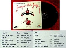 LP Sammy Davis jr & Joya Sherrill Jumps With Joya 1957